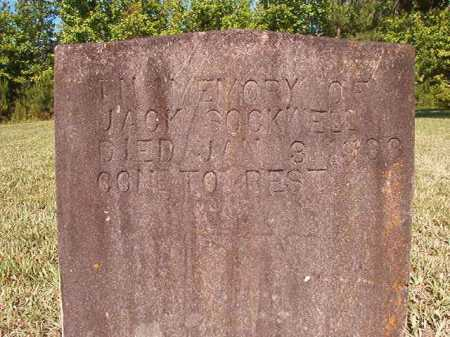 SOCKWELL, JACK - Ouachita County, Arkansas | JACK SOCKWELL - Arkansas Gravestone Photos