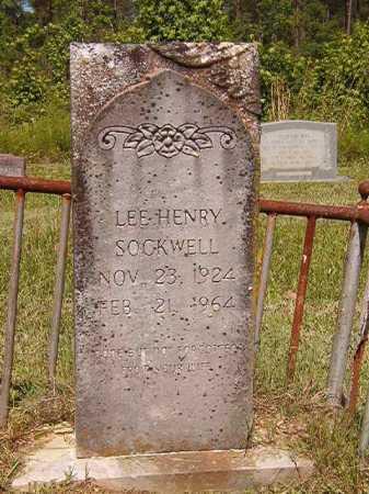 SOCKWELL, LEE HENRY - Ouachita County, Arkansas   LEE HENRY SOCKWELL - Arkansas Gravestone Photos
