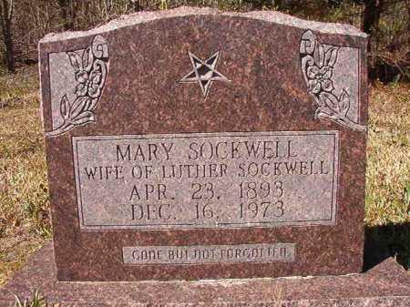 SOCKWELL, MARY - Ouachita County, Arkansas | MARY SOCKWELL - Arkansas Gravestone Photos