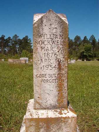 SOCKWELL, WILLIAM - Ouachita County, Arkansas   WILLIAM SOCKWELL - Arkansas Gravestone Photos