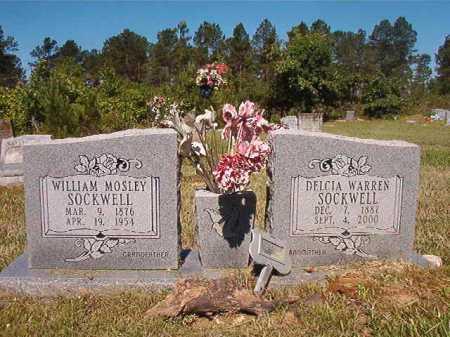 WARREN SOCKWELL, DELCIA - Ouachita County, Arkansas | DELCIA WARREN SOCKWELL - Arkansas Gravestone Photos