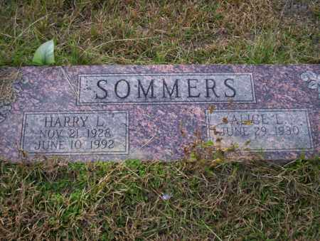 SOMMERS, HARRY L - Ouachita County, Arkansas | HARRY L SOMMERS - Arkansas Gravestone Photos