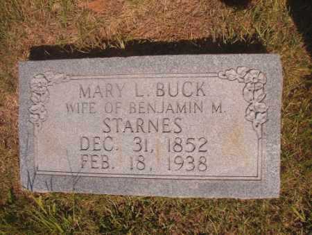 BUCK STARNES, MARY L - Ouachita County, Arkansas | MARY L BUCK STARNES - Arkansas Gravestone Photos