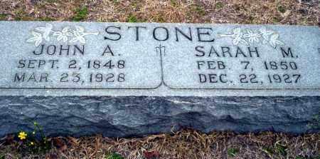 STONE, SARAH M - Ouachita County, Arkansas | SARAH M STONE - Arkansas Gravestone Photos