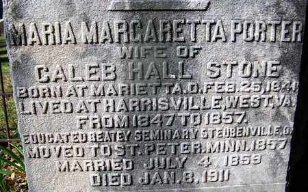 STONE, MARIA MARGARETTA - Ouachita County, Arkansas | MARIA MARGARETTA STONE - Arkansas Gravestone Photos