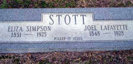 SIMPSON STOTT, ELIZA - Ouachita County, Arkansas | ELIZA SIMPSON STOTT - Arkansas Gravestone Photos