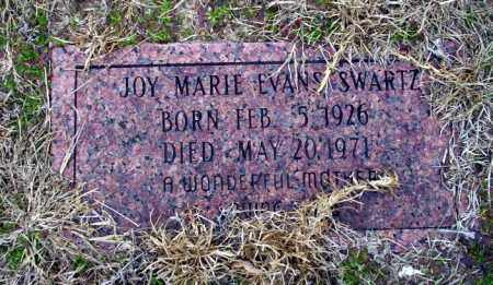 EVANS SWARTZ, JOY MARIE - Ouachita County, Arkansas | JOY MARIE EVANS SWARTZ - Arkansas Gravestone Photos