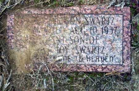SWARTZ, JERRY NELSON - Ouachita County, Arkansas   JERRY NELSON SWARTZ - Arkansas Gravestone Photos