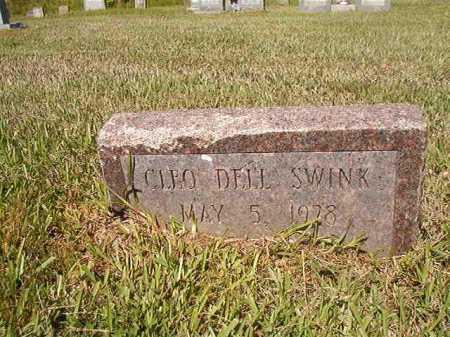 SWINK, CLEO DELL - Ouachita County, Arkansas | CLEO DELL SWINK - Arkansas Gravestone Photos