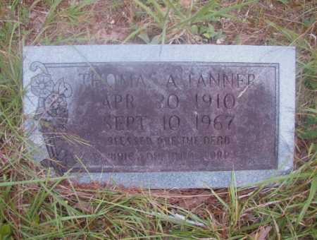 TANNER, THOMAS A - Ouachita County, Arkansas | THOMAS A TANNER - Arkansas Gravestone Photos