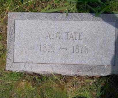 TATE, A.G. - Ouachita County, Arkansas | A.G. TATE - Arkansas Gravestone Photos