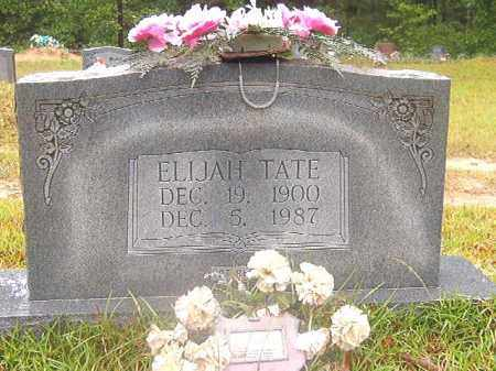 TATE, ELIJAH - Ouachita County, Arkansas | ELIJAH TATE - Arkansas Gravestone Photos