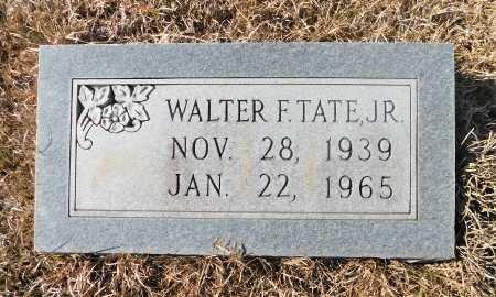 TATE JR., WALTER F - Ouachita County, Arkansas   WALTER F TATE JR. - Arkansas Gravestone Photos