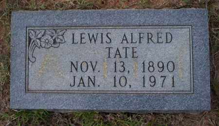 TATE, LEWIS ALFRED - Ouachita County, Arkansas | LEWIS ALFRED TATE - Arkansas Gravestone Photos