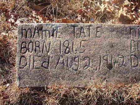 TATE, MAMIE - Ouachita County, Arkansas   MAMIE TATE - Arkansas Gravestone Photos