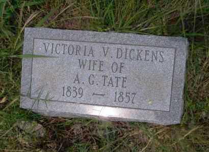 DICKENS TATE, VICTORIA V - Ouachita County, Arkansas | VICTORIA V DICKENS TATE - Arkansas Gravestone Photos