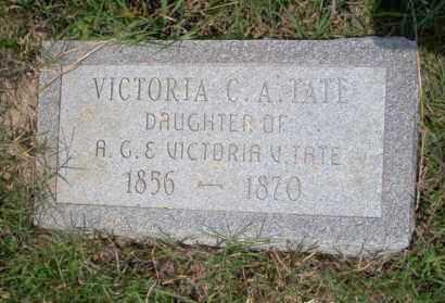 TATE, VICTORIA C.A. - Ouachita County, Arkansas | VICTORIA C.A. TATE - Arkansas Gravestone Photos