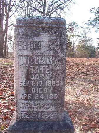 TATE, WILLIAM H - Ouachita County, Arkansas   WILLIAM H TATE - Arkansas Gravestone Photos