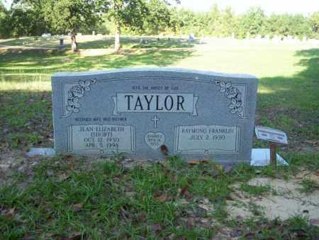 SHORT TAYLOR, JEAN ELIZABETH - Ouachita County, Arkansas   JEAN ELIZABETH SHORT TAYLOR - Arkansas Gravestone Photos