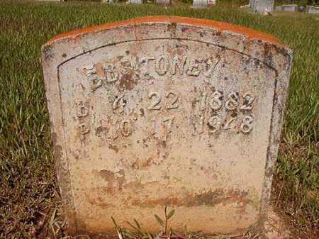 TONEY, E B - Ouachita County, Arkansas   E B TONEY - Arkansas Gravestone Photos