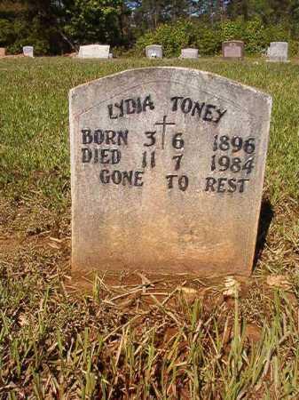 TONEY, LYDIA - Ouachita County, Arkansas   LYDIA TONEY - Arkansas Gravestone Photos