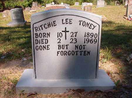 TONEY, RITCHIE LEE - Ouachita County, Arkansas | RITCHIE LEE TONEY - Arkansas Gravestone Photos