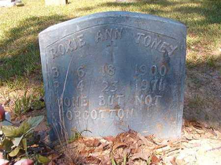 TONEY, ROXIE ANN - Ouachita County, Arkansas | ROXIE ANN TONEY - Arkansas Gravestone Photos