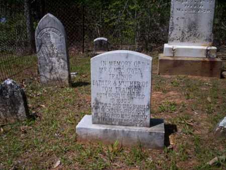 TRAINOR, MR & MRS OWEN - Ouachita County, Arkansas   MR & MRS OWEN TRAINOR - Arkansas Gravestone Photos