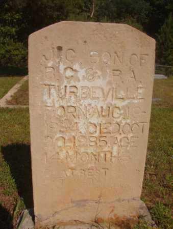 TURBEVILLE, J G - Ouachita County, Arkansas   J G TURBEVILLE - Arkansas Gravestone Photos