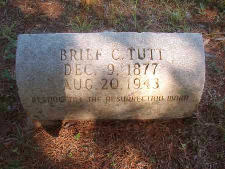 TUTT, BRIEF C - Ouachita County, Arkansas | BRIEF C TUTT - Arkansas Gravestone Photos