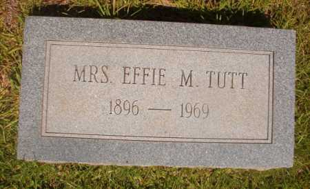 TUTT, EFFIE M - Ouachita County, Arkansas | EFFIE M TUTT - Arkansas Gravestone Photos