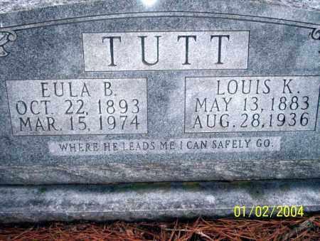 TUTT, EULA B - Ouachita County, Arkansas | EULA B TUTT - Arkansas Gravestone Photos