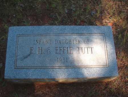 TUTT, INFANT DAUGHTER - Ouachita County, Arkansas | INFANT DAUGHTER TUTT - Arkansas Gravestone Photos