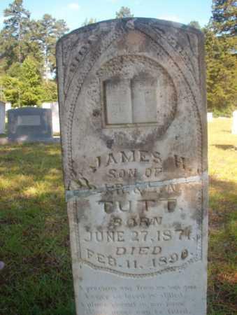 TUTT, JAMES H - Ouachita County, Arkansas   JAMES H TUTT - Arkansas Gravestone Photos