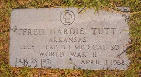 TUTT (VETERAN WWII), FRED HARDIE - Ouachita County, Arkansas | FRED HARDIE TUTT (VETERAN WWII) - Arkansas Gravestone Photos