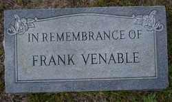 VENABLE, FRANK - Ouachita County, Arkansas | FRANK VENABLE - Arkansas Gravestone Photos