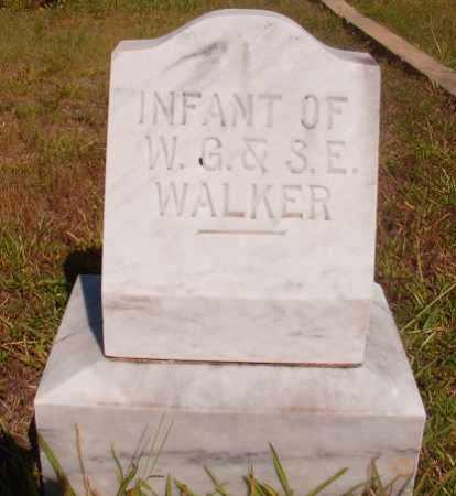 WALKER, INFANT - Ouachita County, Arkansas | INFANT WALKER - Arkansas Gravestone Photos
