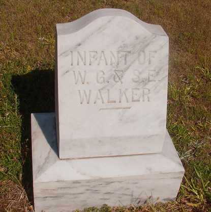 WALKER, INFANT - Ouachita County, Arkansas | INFANT WALKER - Arkansas Gravestone Photos
