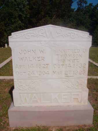 WALKER, WINNIFRED J - Ouachita County, Arkansas   WINNIFRED J WALKER - Arkansas Gravestone Photos