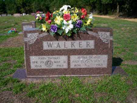 WALKER, JOHN THOMAS - Ouachita County, Arkansas | JOHN THOMAS WALKER - Arkansas Gravestone Photos