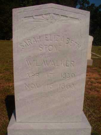 WALKER, SARAH ELIZABETH - Ouachita County, Arkansas | SARAH ELIZABETH WALKER - Arkansas Gravestone Photos