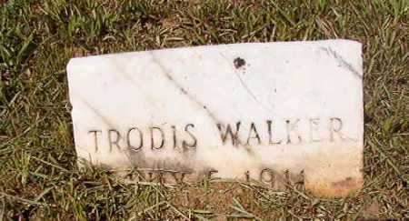 WALKER, TRODIS - Ouachita County, Arkansas | TRODIS WALKER - Arkansas Gravestone Photos
