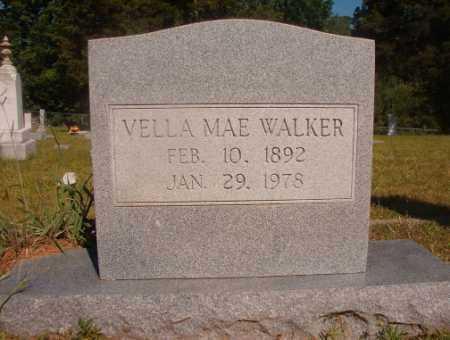 WALKER, VELLA MAE - Ouachita County, Arkansas   VELLA MAE WALKER - Arkansas Gravestone Photos