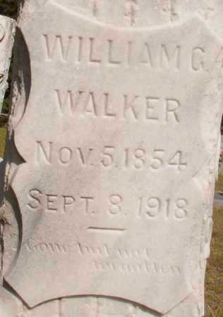 WALKER, WILLIAM G - Ouachita County, Arkansas   WILLIAM G WALKER - Arkansas Gravestone Photos