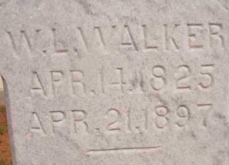 WALKER, WILLIAM LUTHER (CLOSE UP) - Ouachita County, Arkansas | WILLIAM LUTHER (CLOSE UP) WALKER - Arkansas Gravestone Photos