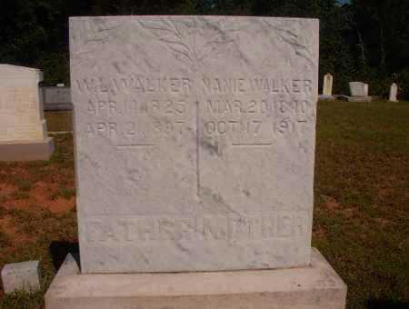 WALKER, WILLIAM LUTHER - Ouachita County, Arkansas | WILLIAM LUTHER WALKER - Arkansas Gravestone Photos