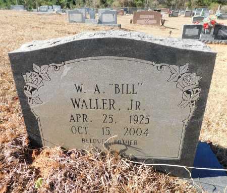 "WALLER JR., W.A. ""BILL"" - Ouachita County, Arkansas | W.A. ""BILL"" WALLER JR. - Arkansas Gravestone Photos"