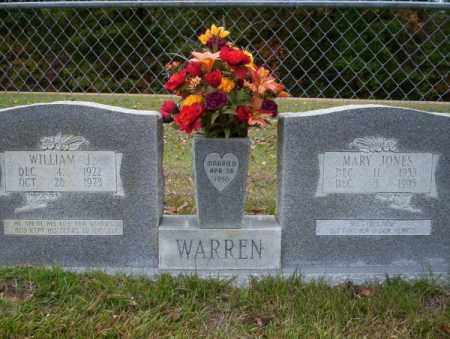 JONES WARREN, MARY - Ouachita County, Arkansas | MARY JONES WARREN - Arkansas Gravestone Photos