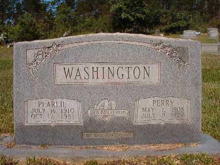 WASHINGTON, PEARLIE - Ouachita County, Arkansas   PEARLIE WASHINGTON - Arkansas Gravestone Photos