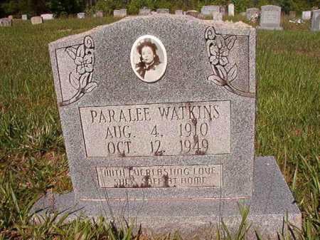 WATKINS, PARALEE - Ouachita County, Arkansas   PARALEE WATKINS - Arkansas Gravestone Photos